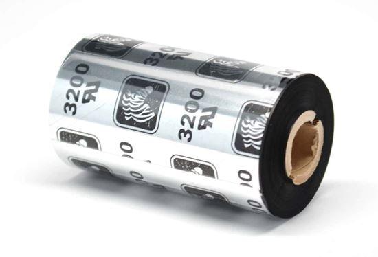 3200 ZEBRA WAX-RESİN RİBON 83mm*450m resmi